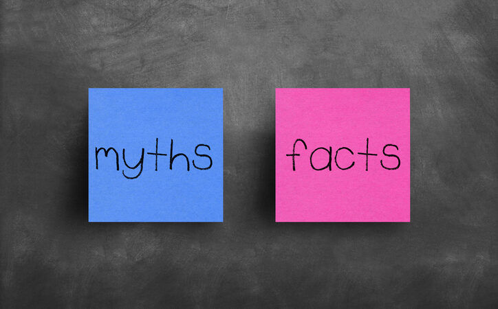 common myths to bust about health