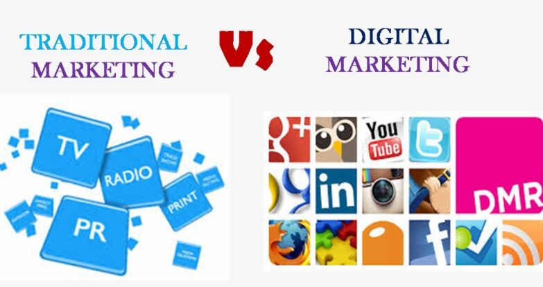Traditional Marketing VS Online Marketing 1